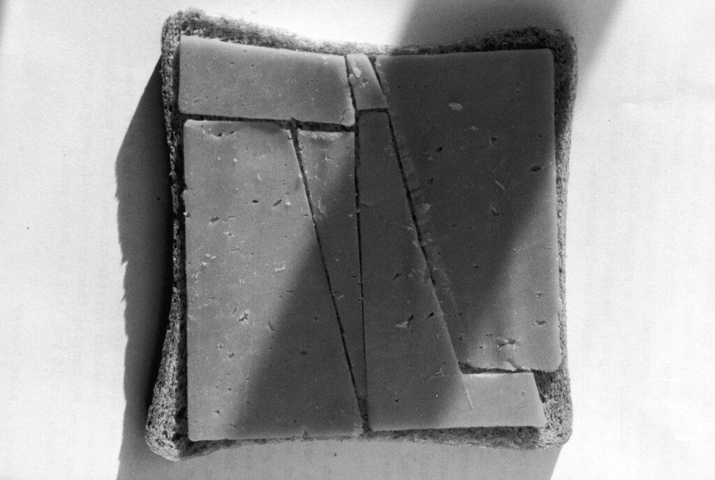 Photographs - London 1997 - Cheese Sandwich