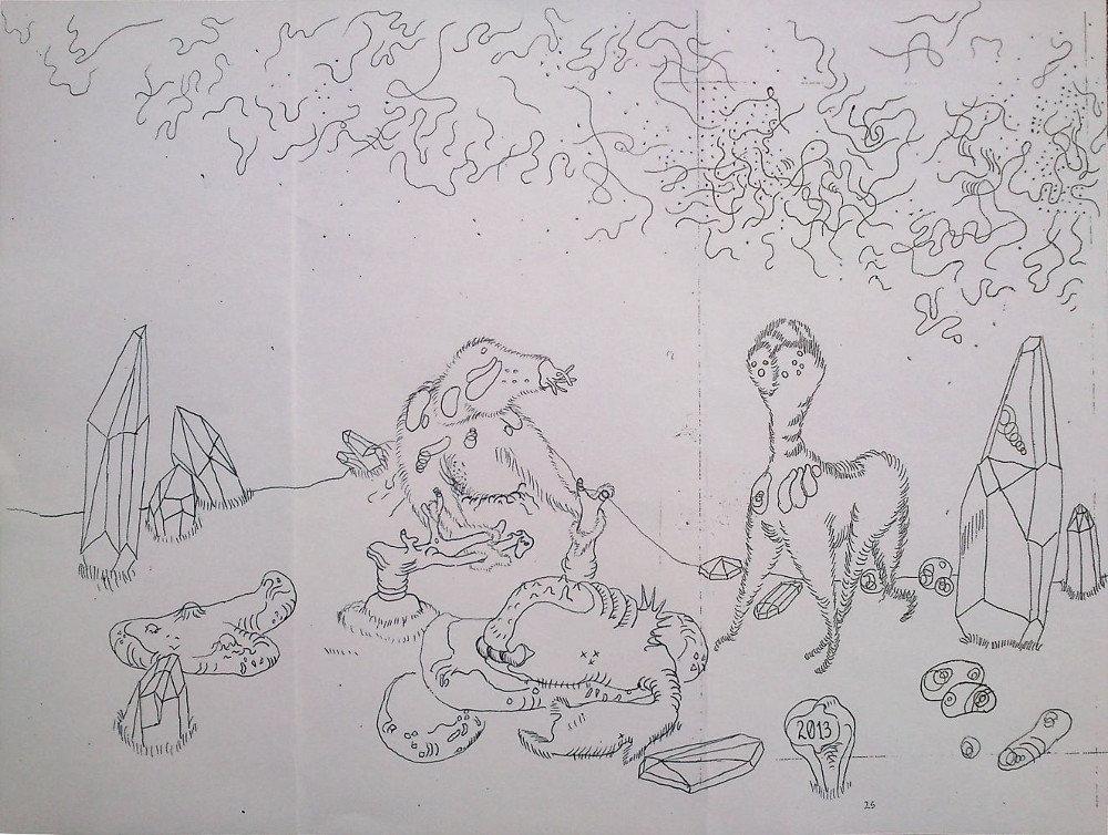 Untitiled Drawing (Faun)