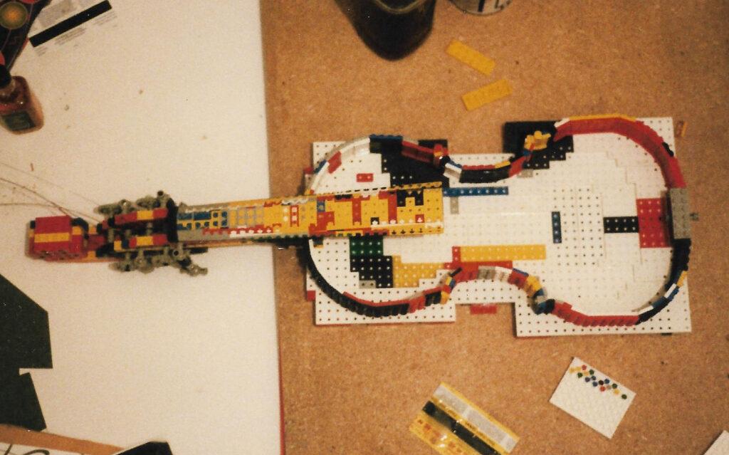 Lego Violin 1999 (build documentation)