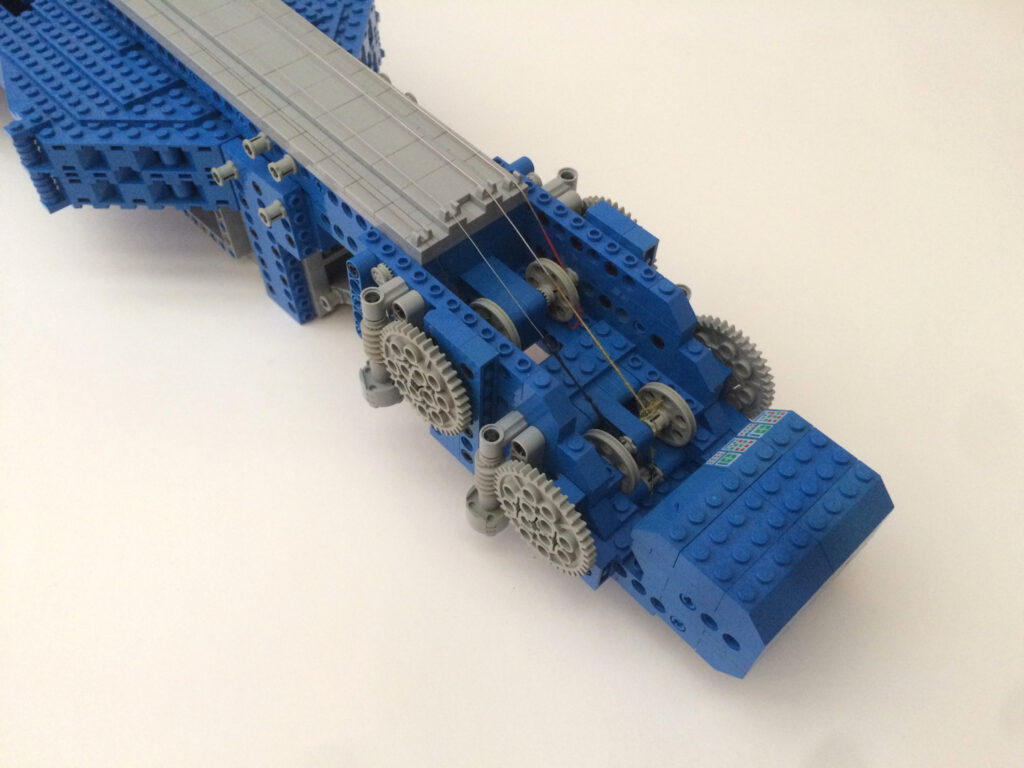 Lego Violin 2020 head detail